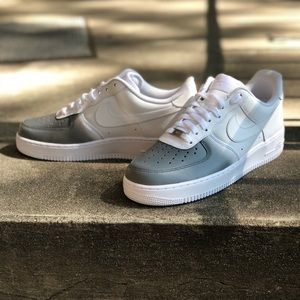 huge discount 0299e 112c2 ... best price nike shoes color fade low air force one custom made by me  83d89 53c48